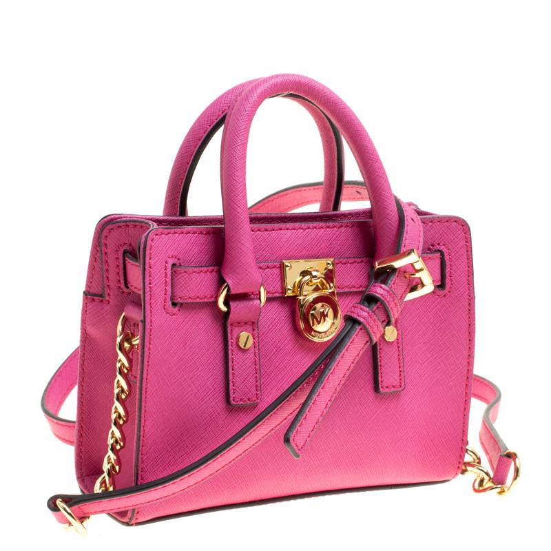 hot pink michael kors bag