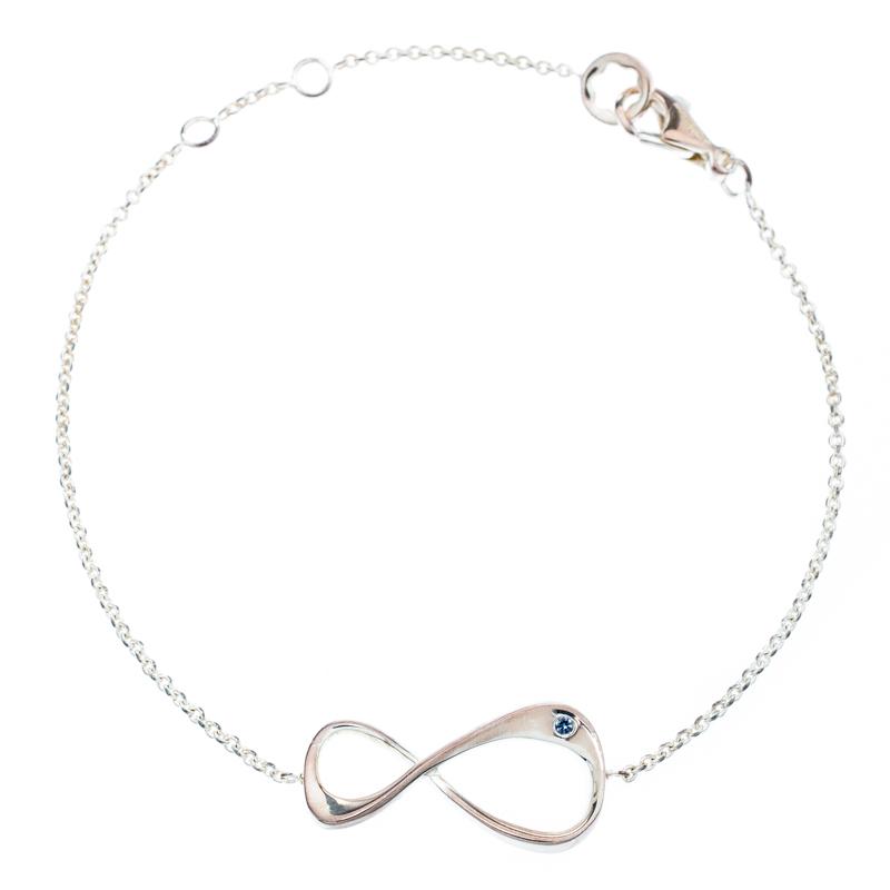 d21cbef645975 Buy Montblanc UNICEF Infiniment Vôtre Sterling Silver Bracelet ...