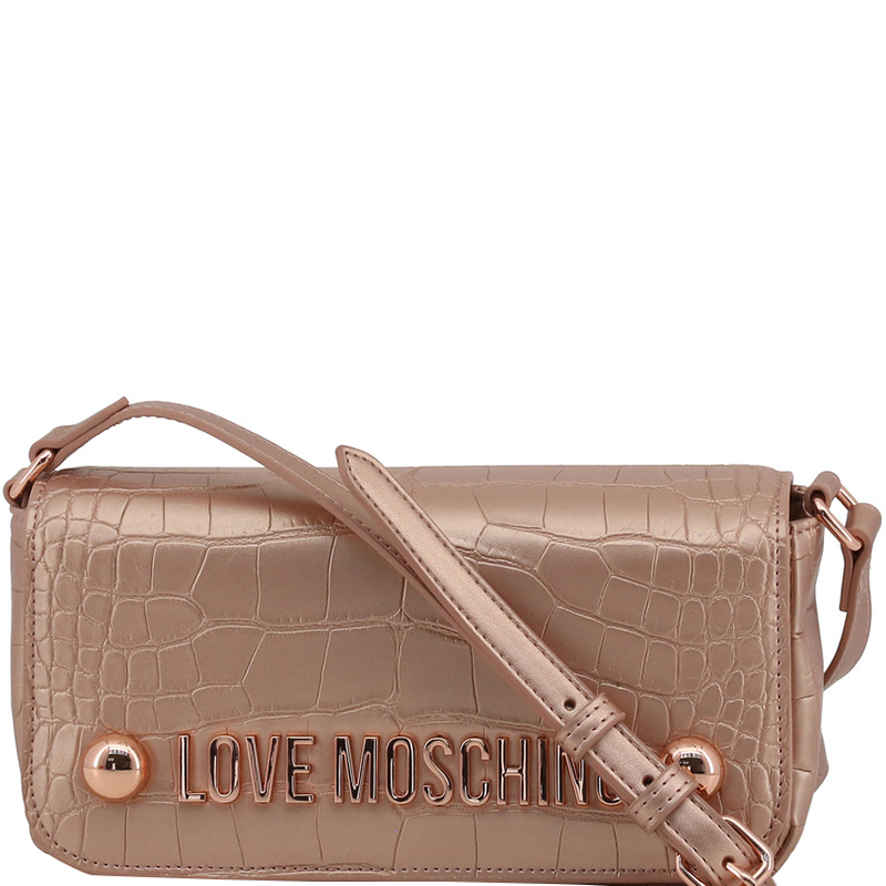 ... Pink Faux Croc Embossed Leather Crossbody Bag. nextprev. prevnext f7d7173aad