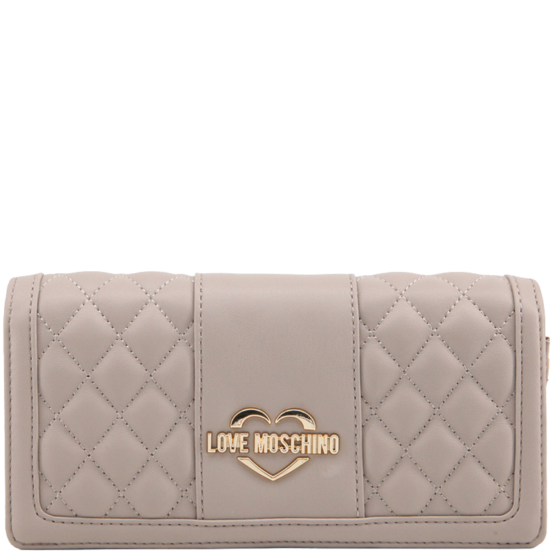 d34c9a0684768 ... Love Moschino Taupe Quilted Leather WOC Clutch Bag. nextprev. prevnext