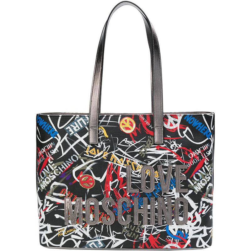 ... Love Moschino Multicolor Faux Print Leather Shopping Tote. nextprev.  prevnext 8874731414182