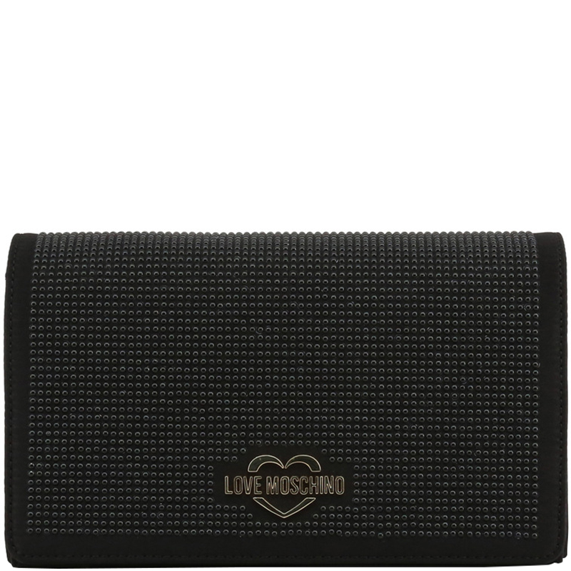 00f8ca6d13b0b ... Love Moschino Black Fabric Studded WOC Clutch Bag. nextprev. prevnext