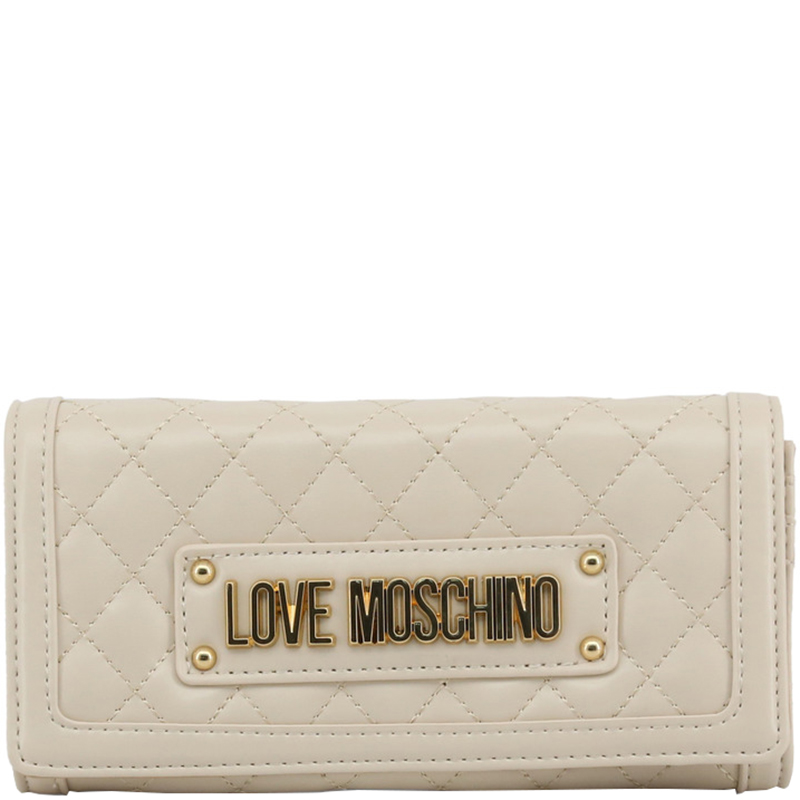 d07af71852ea ... Love Moschino White Quilted Faux Leather WOC Clutch Bag. nextprev.  prevnext