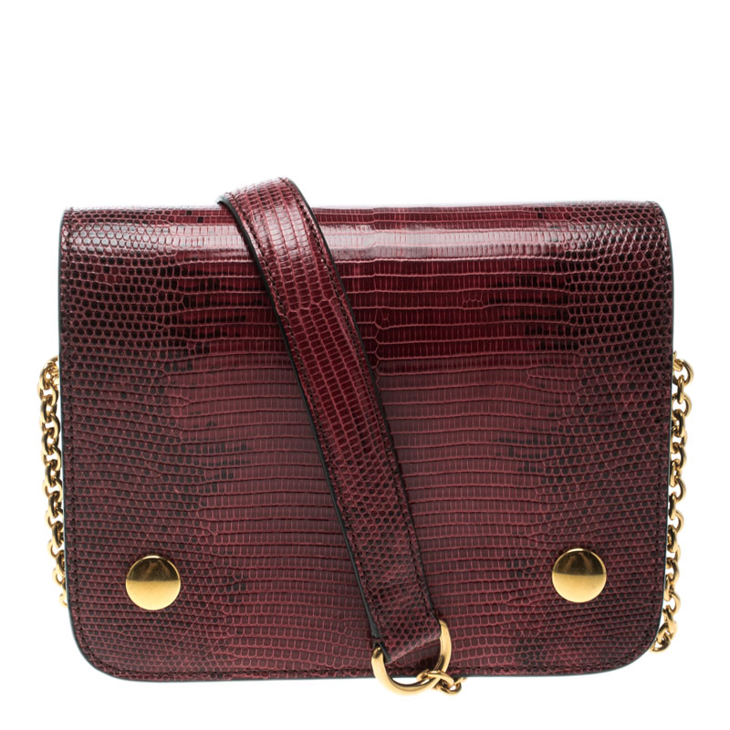 a48cc1a9b2 Buy Mulberry Red Lizard Clifton Crossbody Bag 125170 at best price
