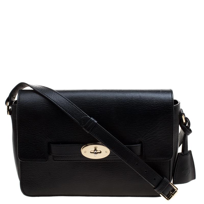 3f037aea6c0b ... Mulberry Black Leather Bayswater Shoulder Bag. nextprev. prevnext