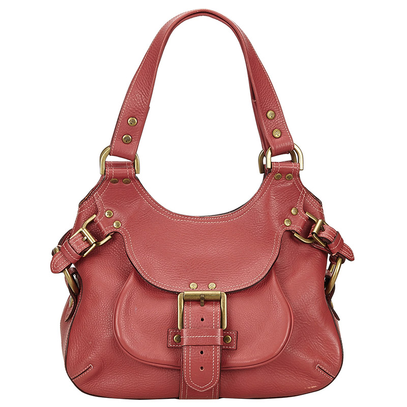 Buy Mulberry Pink Pebbled Leather Shoulder Bag 133400 at best price ... ac74fc174b846