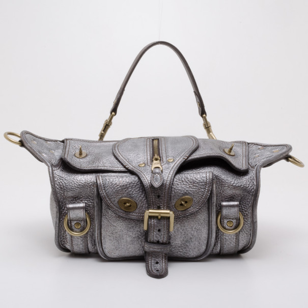 Buy Mulberry Pewter Emmy Shoulder Bag 37800 at best price  1d31a03346e8f