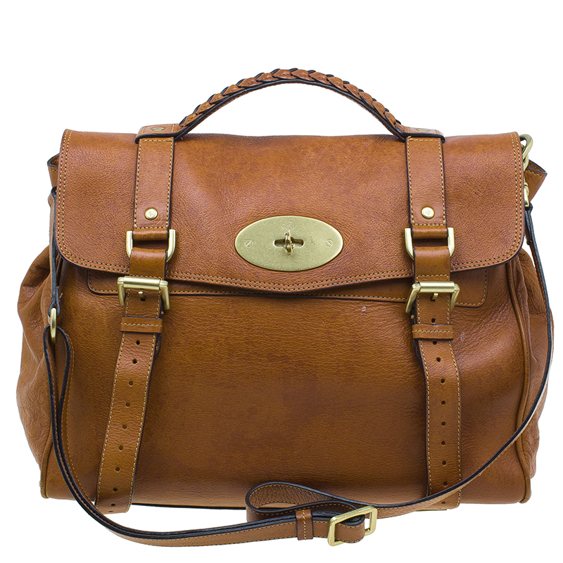 38549f0e34 ... Mulberry Brown Leather Limited Edition 1 of 12 Alexa Cross Body Bag.  nextprev. prevnext