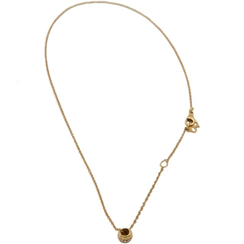 Piaget 18K Rose Gold Possession Diamonds Necklace