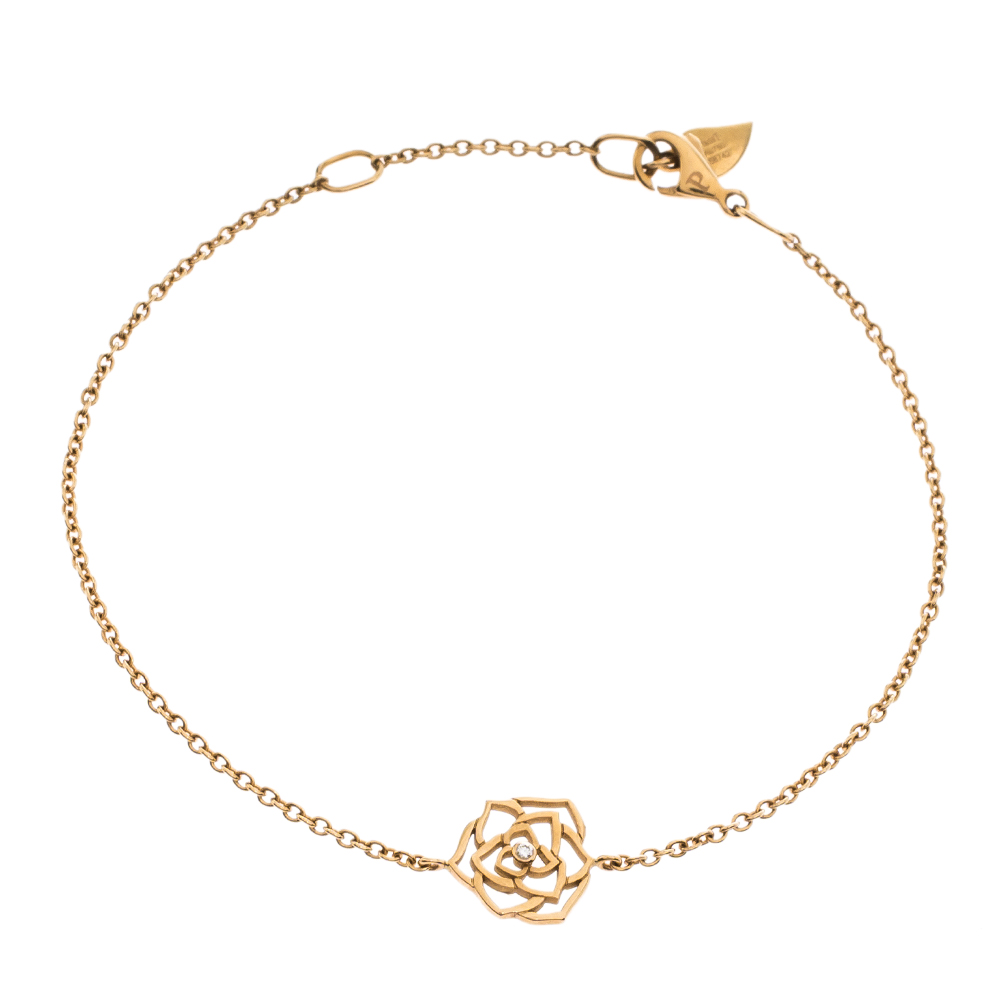 Piaget Rose Diamond 18K Rose Gold Bracelet