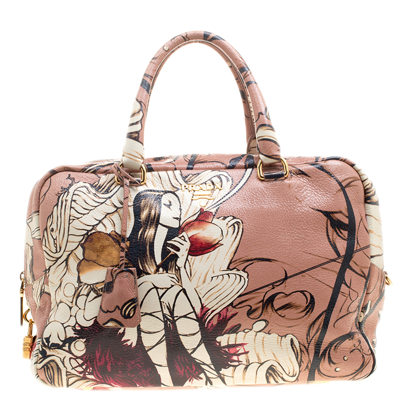 ... Prada Peach Cervo Deerskin Lux Leather Large Limited Edition James Jean Fairy  Tote. nextprev. prevnext 07bbf97badcd9