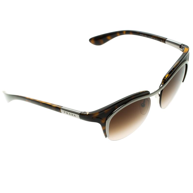 61c68bc40eb6b ... Prada Brown Tortoise SPR 68O Dixie Cat Eye Sunglasses. nextprev.  prevnext