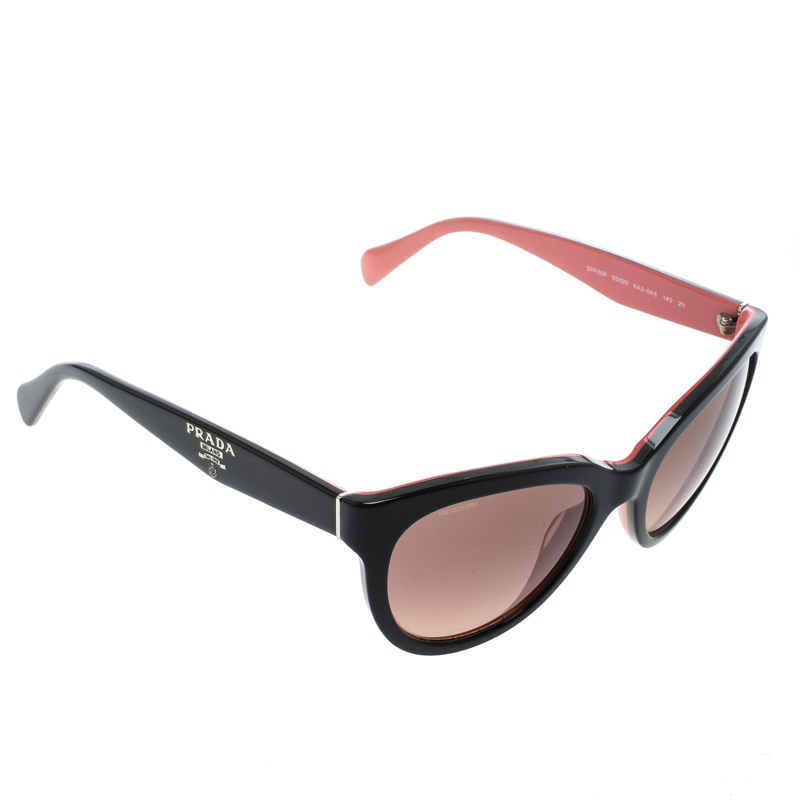ddf909acee61 ... Prada Black Pink Gradient SPR05P Cat Eye Sunglasses. nextprev. prevnext