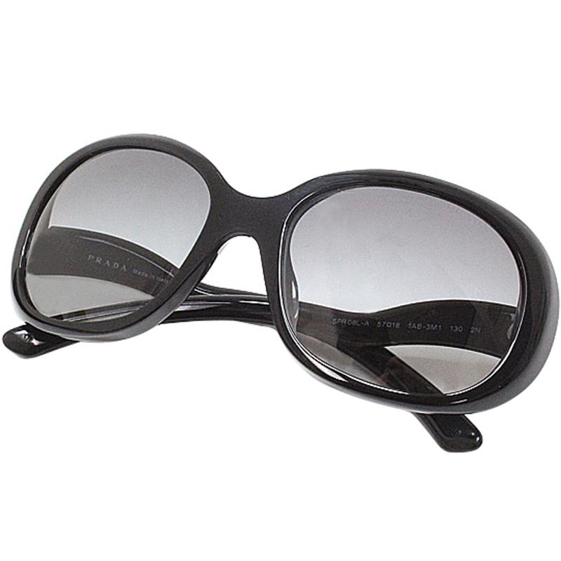 4b3b0558f3a Buy Prada Black SPR08L-A Oversized Sunglasses 169179 at best price
