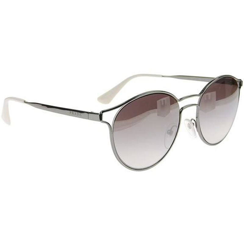 0f06e675dee20 ... Prada Brown Gradient SPR 62S Round Cat Eye Sunglasses. nextprev.  prevnext