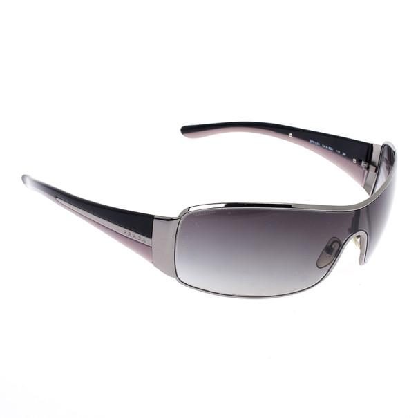 b3d8f339b2a2 Buy Prada Black Shield Women Sunglasses 20365 at best price | TLC