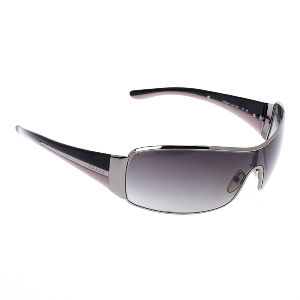 9bb7c46aade2 Buy Prada Black Shield Women Sunglasses 20365 at best price