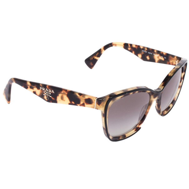 a2b0f05a1c01 Buy Prada Tortoise Shell Square Cat Eye Women's Sunglasses 2285 at ...