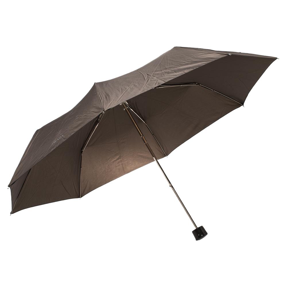 Prada Brown Folding Umbrella