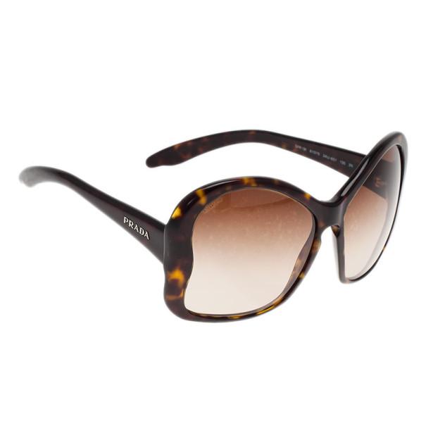 ec68e6f445 Buy Prada Tortoise Butterfly Frame SPR 18I Sunglasses 9430 at best price