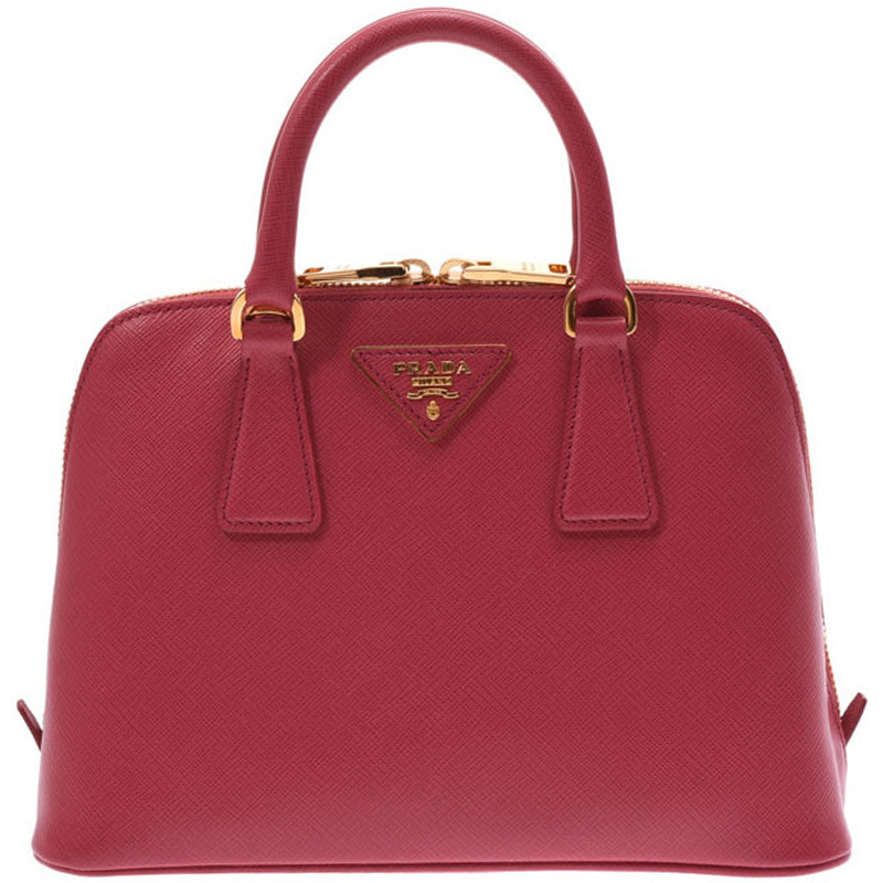 31555892dc82 ... Prada Pink Saffiano Lux Leather Small Promenade Bag. nextprev. prevnext