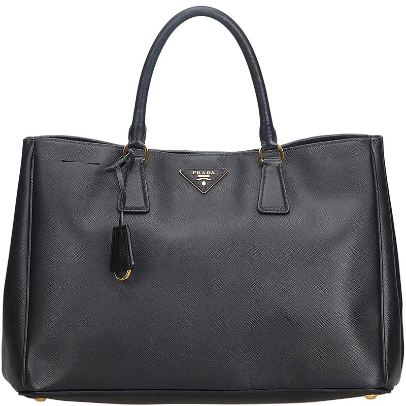 dcdc7f0fe318 ... Prada Black Saffiano Leather Galleria Everyday Bag. nextprev. prevnext
