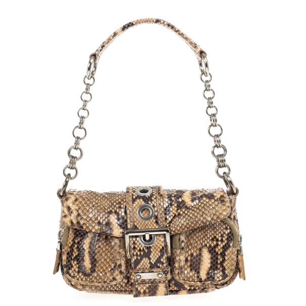 1ec57cd37d292d Buy Prada Python Catena Shoulder Bag 20236 at best price | TLC