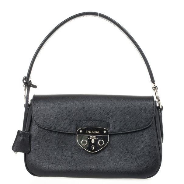 ... Prada Black Saffiano Leather Small Shoulder Bag. nextprev. prevnext 4497461ee4ca0