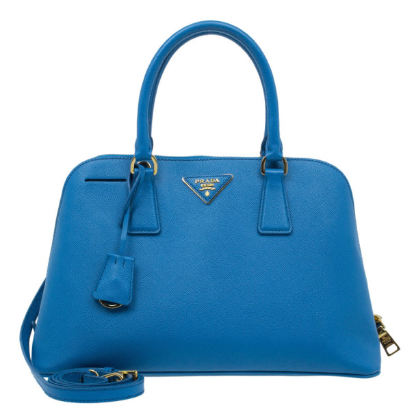 f64ed0490ada ... where to buy prada blue saffiano leather small shell top handle bag.  nextprev. prevnext ...