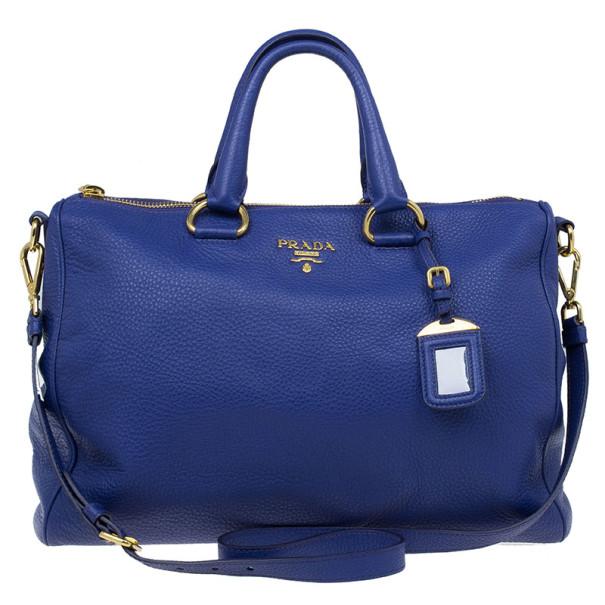 3d2306985e34ca Buy Prada Purple Vitello Daino Zip Tote 9982 at best price | TLC