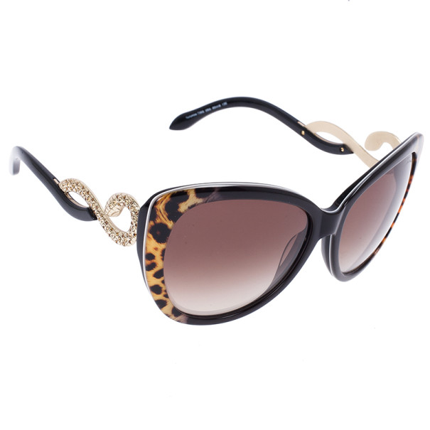 26d42400b3a Buy Roberto Cavalli Leopard Frame Serpent Kurumba Sunglasses 5339 at best  price