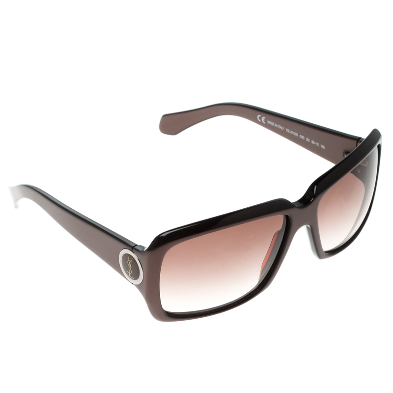 Saint Laurent Brown YSL 6110/S Square Sunglasses