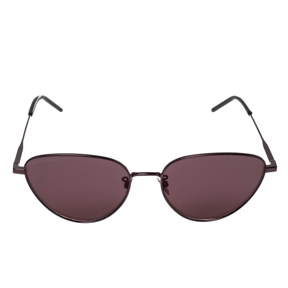 Saint Laurent Black/Pink SL310 Cat Eye Sunglasses