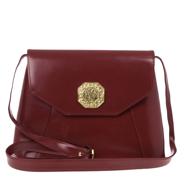 ac522dcc877a Buy Yves Saint Laurent Red Leather Vintage Shoulder Bag 19501 at ...