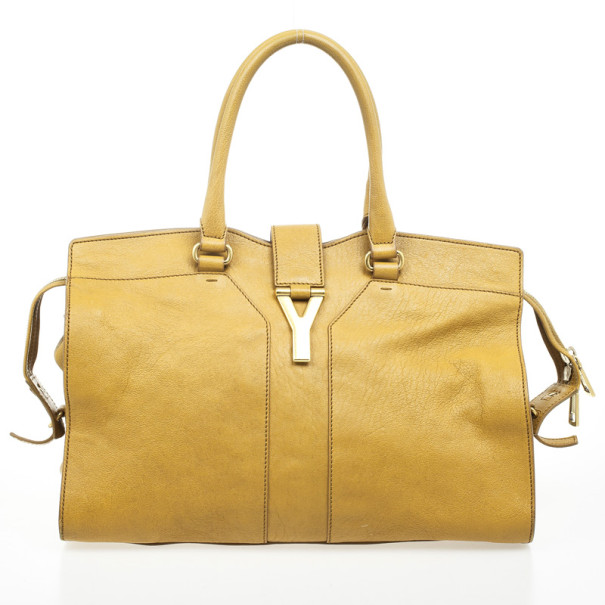 854a08abc2 ... Yves Saint Laurent Yellow Ysl Cabas Chyc Large Leather East West Bag.  nextprev. prevnext