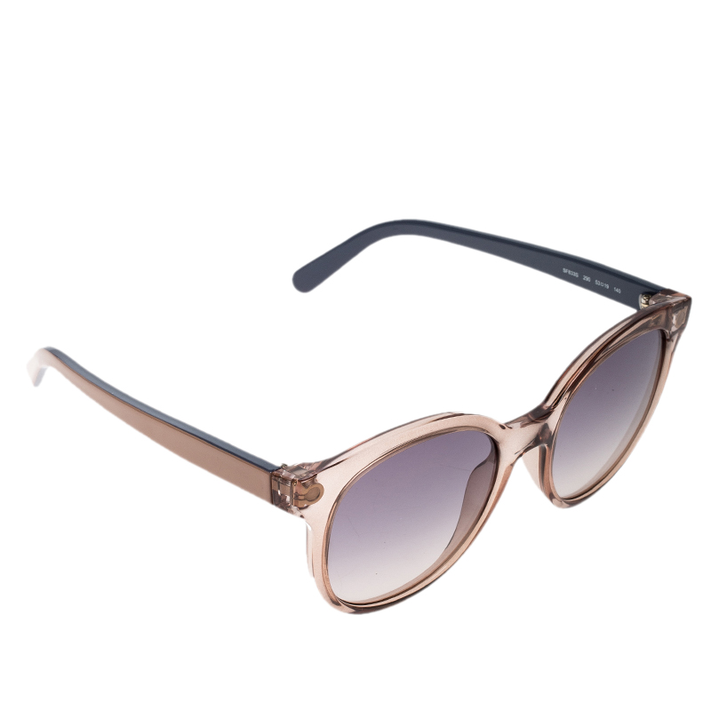 fc654eb58be82 ... Salvatore Ferragamo Brown Transparent Purple Gradient SF833S 290  Wayfarer Sunglasses. nextprev. prevnext