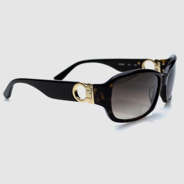 1ca7cbe1cec Buy Salvatore Ferragamo Tortoise SF608S Womens Sunglasses 32176 at ...