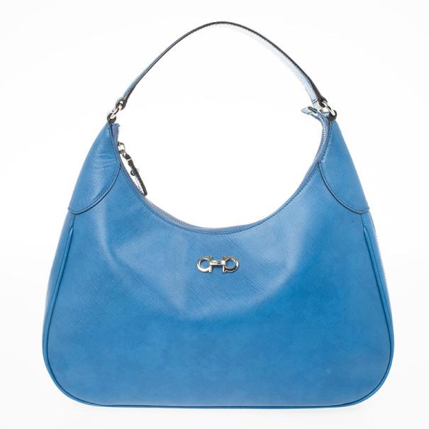 Buy Salvatore Ferragamo Gancini Romana Hobo Bag 23579 at best price ... c68d808643721