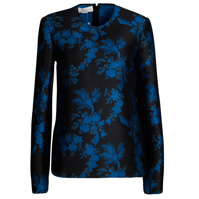 Floral Stella Azul Mccartney Estampado Top dzXnaqpd