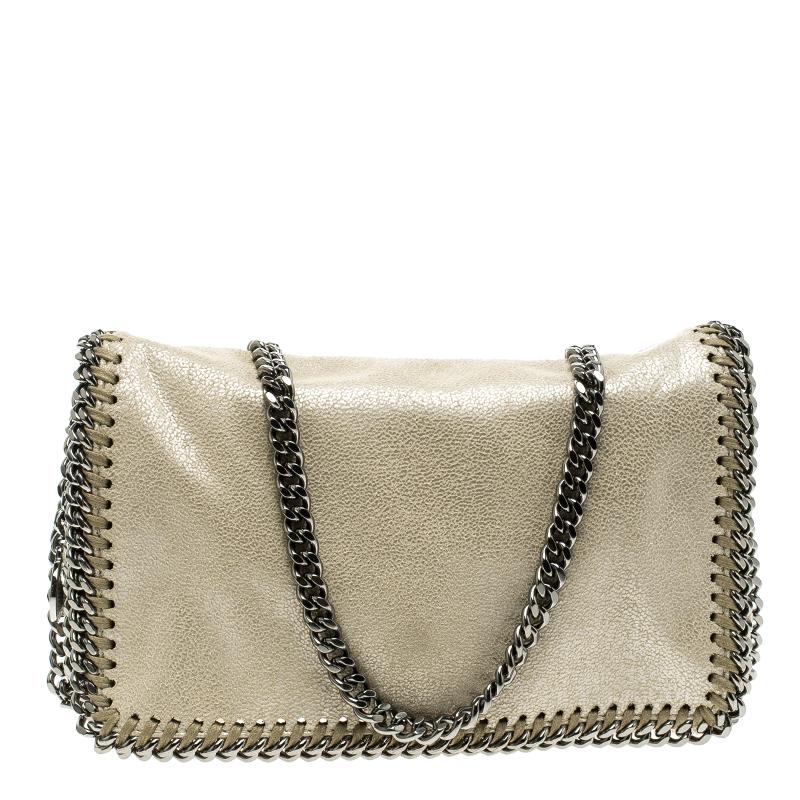 145757b407 ... Stella McCartney Cream Leather Falabella Crossbody Bag. nextprev.  prevnext