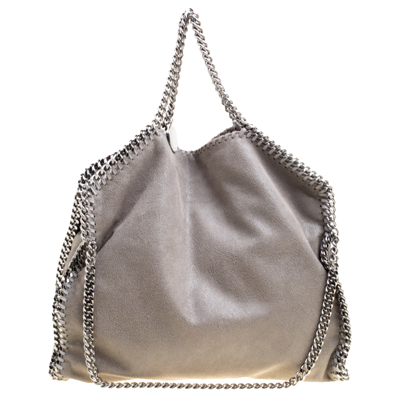c6c8260f414a ... Stella McCartney Grey Faux Leather Small Falabella Tote. nextprev.  prevnext