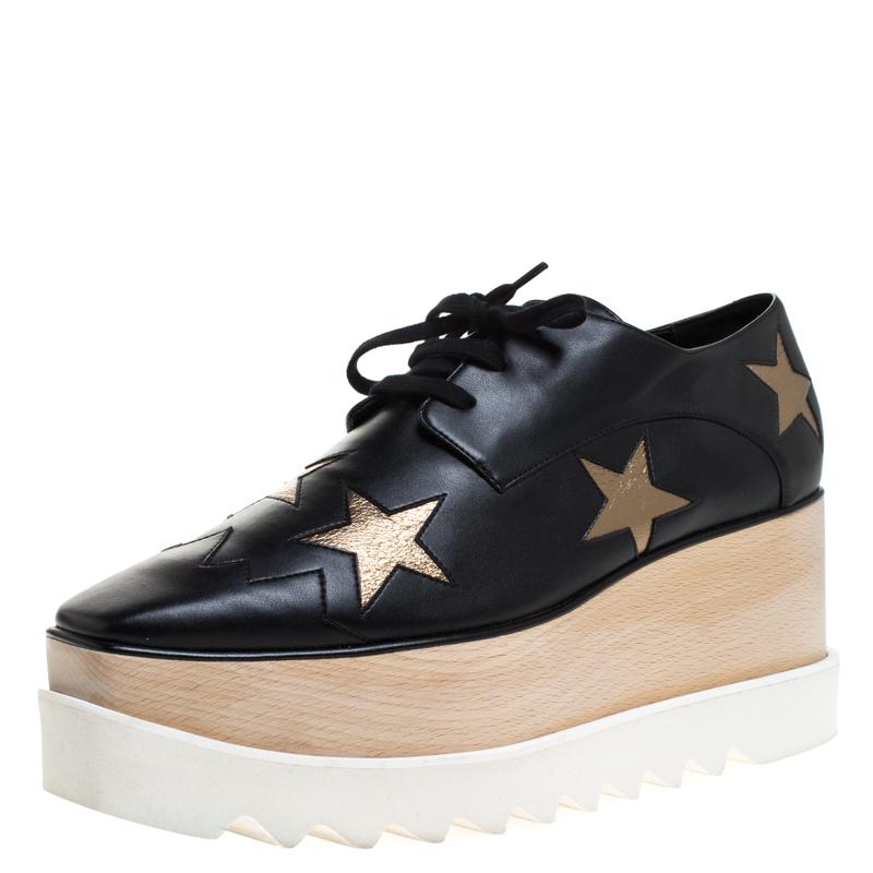 Stella McCartney Black Faux Leather