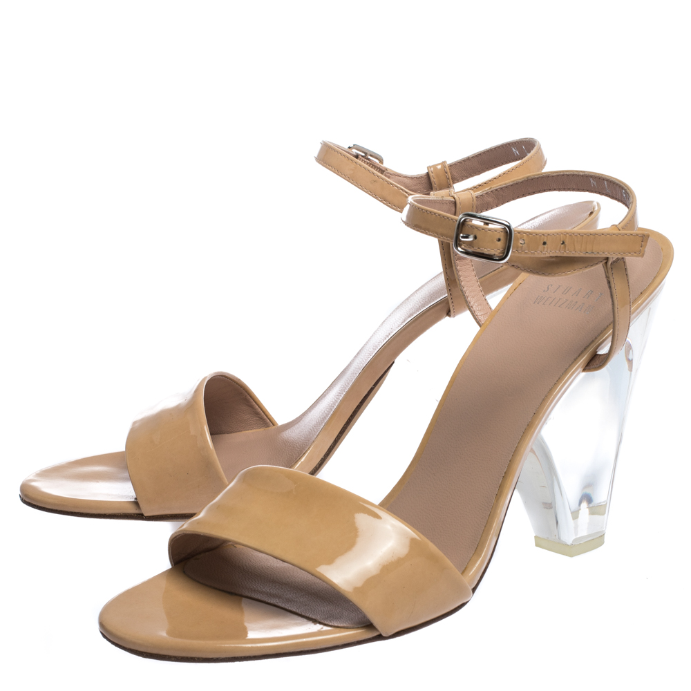 Stuart Weitzman Aleena 75 Sandals - Lyst