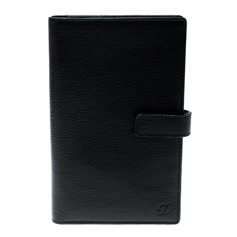 bd77d2abc74 Buy S.T. Dupont Black Leather Agenda Cover 197194 at best price | TLC