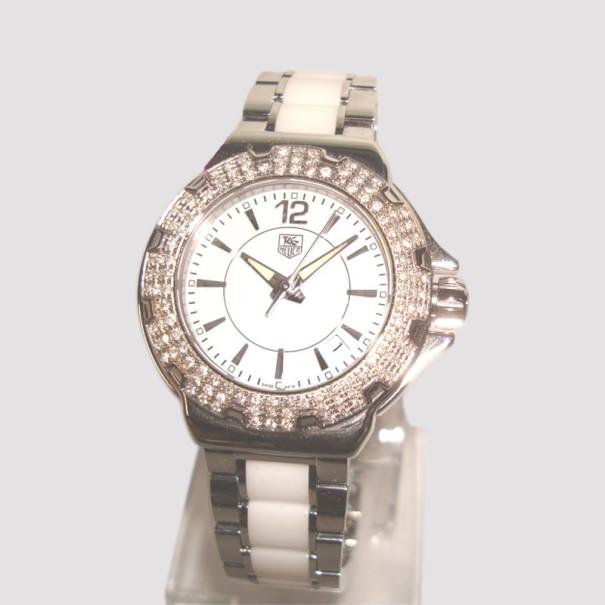 8361a133ee85 Buy Tag Heuer Formula 1 Ceramic SS Ladies Watch 36974 at best price ...
