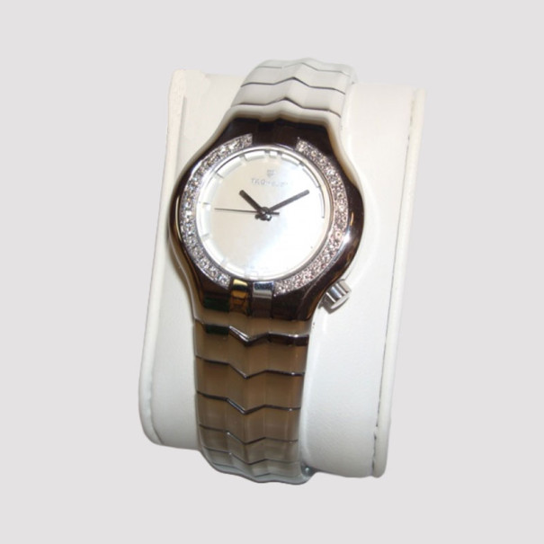 ba068464fc6b Buy Tag Heuer Alter Ego Ladies Watch SS Diamonds 36976 at best price ...