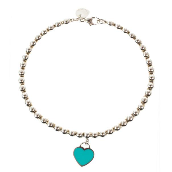 2e39951797b6 Buy Tiffany   Co. Return To Tiffany Silver Beat Bracelet 17CM 15318 ...