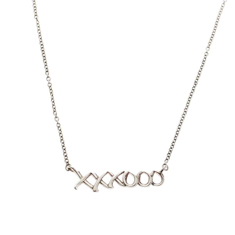 cd774e2b1 ... Tiffany & Co. Paloma's Graffiti Love & Kisses Pendant Necklace.  nextprev. prevnext