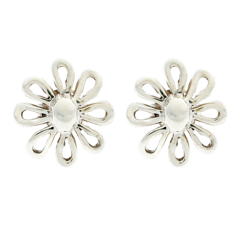 cefa8c44f Buy Tiffany & Co. Paloma Picasso Sterling Silver Daisy Stud Earrings ...
