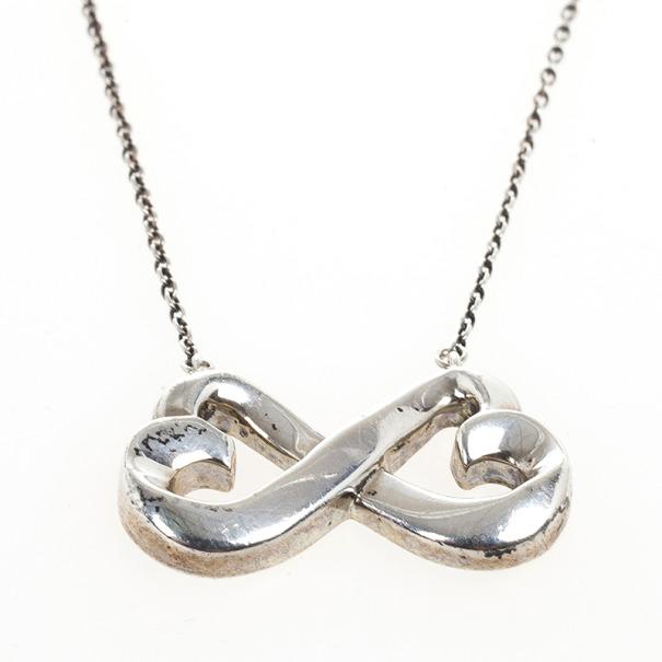 25fcdc891 Paloma Picasso Double Loving Heart Silver Pendant Necklace. nextprev.  prevnext